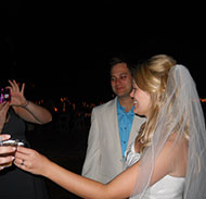 The Bride Toasts