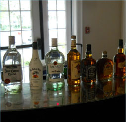 Bottles on Bar
